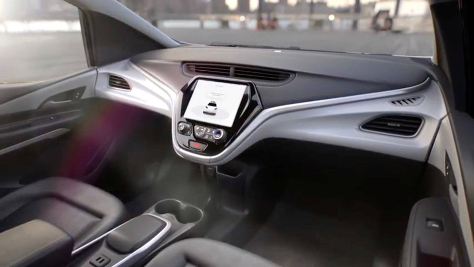 Mehr Fußraum: das Cockpit des selbstfahrenden Autos
