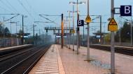Bahnstreik auf Personenzüge ausgeweitet