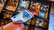 Die gute Konjunktur füllt die deutschen Staatskassen.