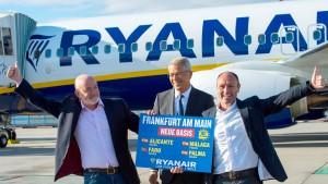 Ryanair hat für Frankfurt noch größere Pläne
