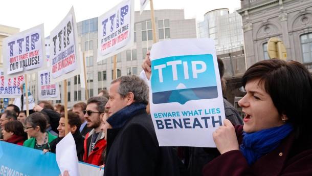 Frankreich droht mit Ende von TTIP-Gesprächen