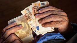 Mit Euro wird mehr bezahlt als mit Dollar