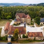 Schloss Eyrichshof ist bis heute in Familienbesitz, und das soll so bleiben. Veranstaltungen waren die wichtigste Einnahmequelle - bis Corona kam.