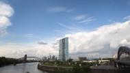 Zentrale der EZB in Frankfurt: Die Bankenaufsicht soll nach Ansicht der Deutschen von der Geldpolitik getrennt werden.