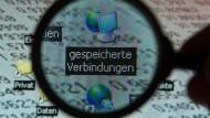 """Blitzschnell zeigt die Analysesoftware """"Gotham"""" alle relevanten Verbindungen von Tatverdächtigen auf. (Symbolbild)"""