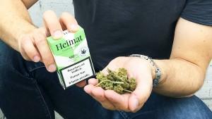 Legales Gras in Schweizer Zigaretten