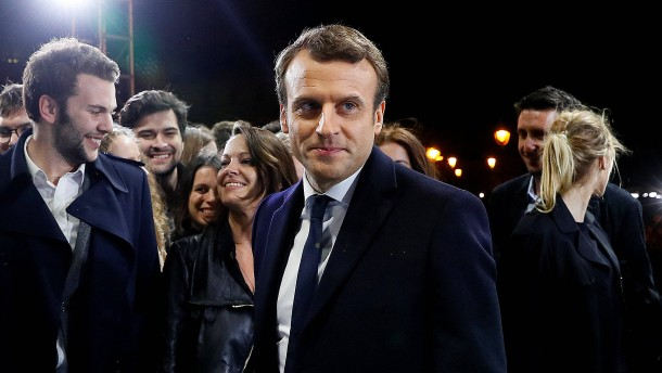Emmanuel Macron ist der neue Präsident von Frankreich