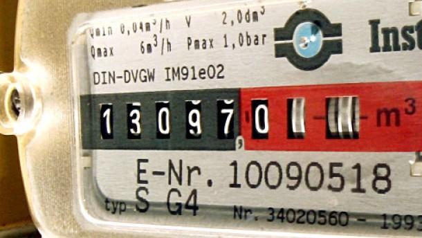 182 Versorger heben die Gaspreise an