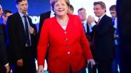 Merkel musste sich einiges anhören, kritisierte aber auch ihrerseits.