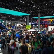 Massenwirksam: Die IAA zieht trotz eines 2019 erlittenen kräftigen Besucherrückgangs noch Hunderttausende an – auch in Zukunft in Frankfurt?