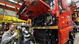 Volkswagen gibt Beschäftigungsgarantie für MAN