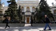 Verwirrung um Hackerangriff auf Russlands Zentralbank