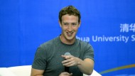 Mark Zuckerberg spricht in China Mandarin