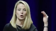Kämpft seit mehr als drei Jahren, kommt aber mit der Sanierung von Yahoo nicht recht auf einen grünen Zweig: Marissa Mayer