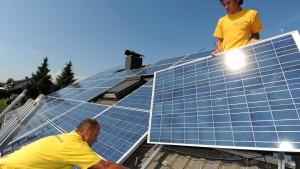Solaranlagen liefern Rekordmengen an Strom