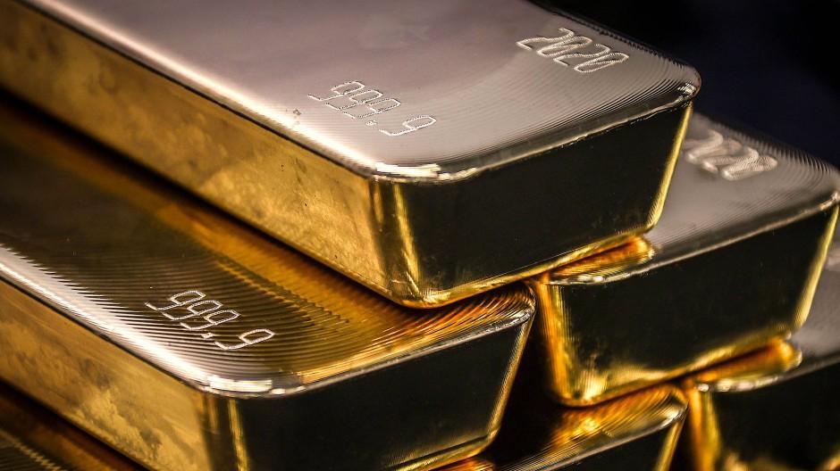 Begehrte Barren: Derzeit bricht der Goldpreis Rekord um Rekord.