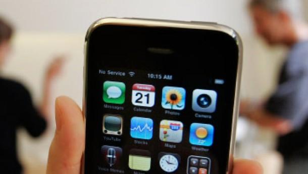 """Der Netzwerkausrüster Cisco war 2000 in den Besitz der Marke """"IPhone"""" gekommen"""