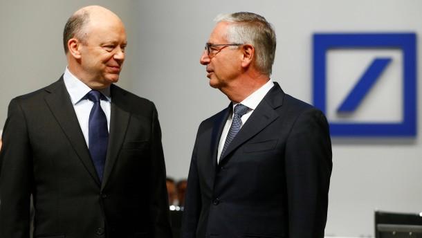 Mehrere Aufsichtsräte der Deutschen Bank wollten Cryan behalten