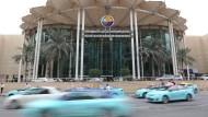 Autofahrer in Doha