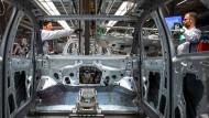 Produktion des E-Autos ID3 von Volkswagen