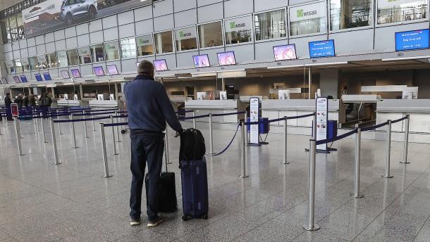 Bis zu 60 Prozent weniger Passagiere