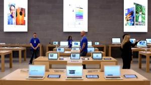 Apples Läden sind einzigartig