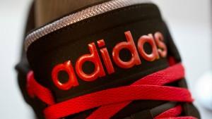 Das Geschäft mit dem Fußball läuft für Adidas auf Hochtouren