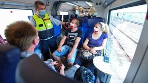 """""""Im Zug ist im Schnitt nur jeder dritte Platz besetzt"""""""