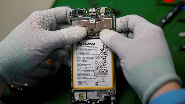 Deutsche Regierung will Huawei nicht ausschließen