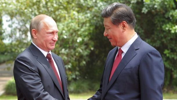China lässt Russland zappeln