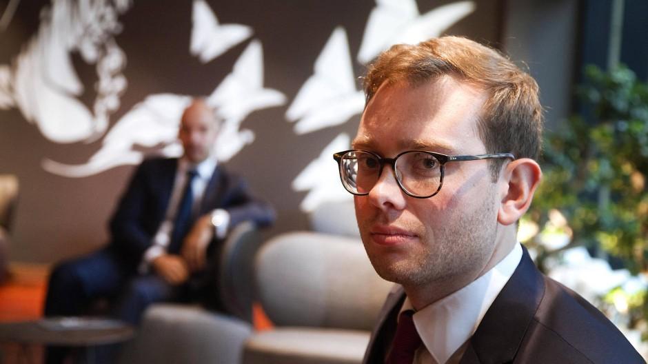 Andere Einstellung zur Work-Life-Balance: Juniorpartner Florian Bruse (27 Jahre).