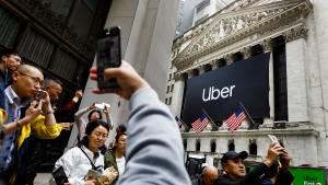 Uber enttäuscht mit Börsengang