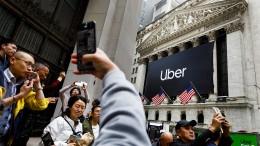 Uber feiert Mega-Börsengang