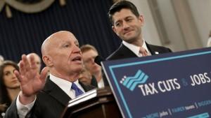Republikaner legen Entwurf für große Steuerreform vor