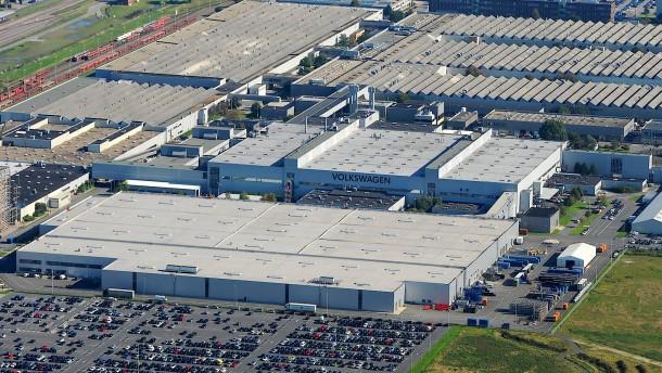 VW beantragt Kurzarbeit für Werk in Emden