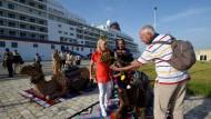 Im Hafen von La Goulette: Der Tourismus in Tunesien liegt nach Terroranschlägen und Unruhen am Boden.