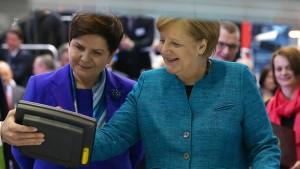 Merkel fordert Geschlossenheit gegenüber den Briten