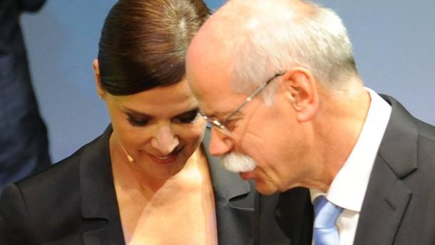 Dieter Zetsche und Desiree Nosbusch