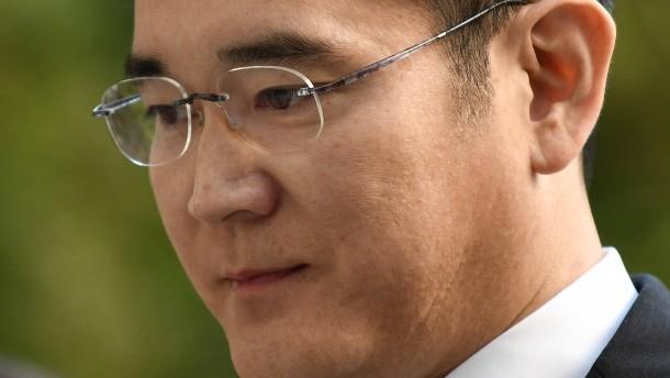 Anklage gegen Lee Jae-yong