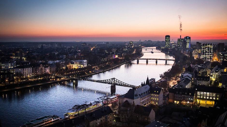 Ein teures Immobilienpflaster: Frankfurt am Main