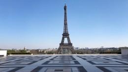 Paris – leer, schön, gespenstisch