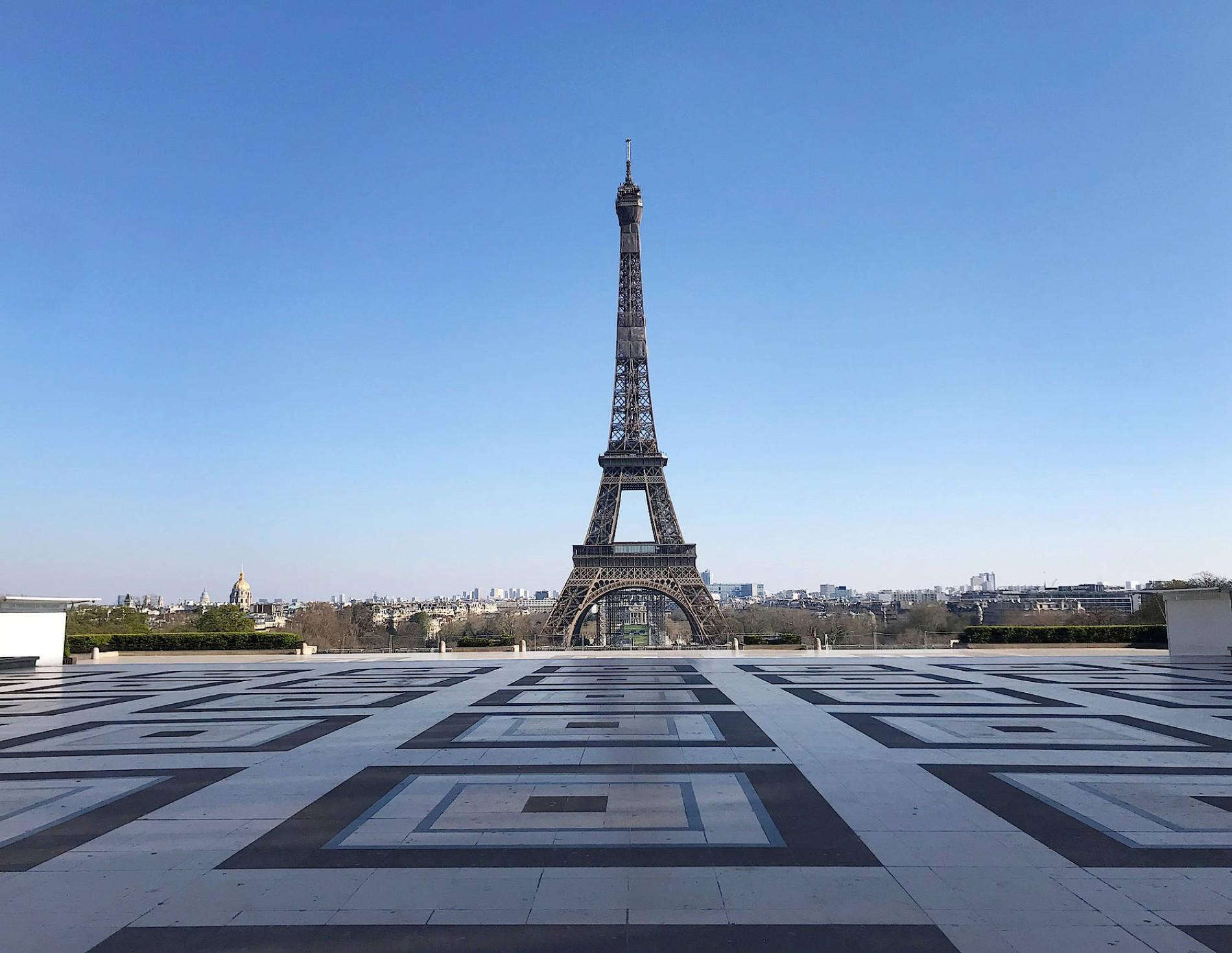 Corona und Frankreich: Paris – leer, schön, gespenstisch