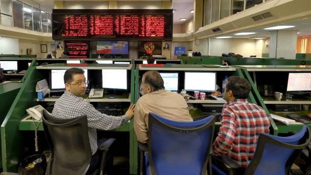 Irans Börse steigt auf Allzeithoch