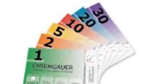 Coupons Und Gutscheine Bunte Scheine Statt Barer Münzen