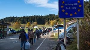 Grenzen für Migration