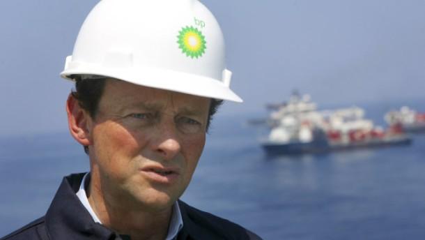 BP-Chef Tony Hayward vor dem Rücktritt