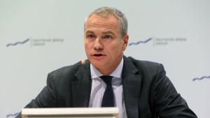 Deutsche Börse sieht sich bei Fusion auf Kurs