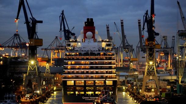 Kein Verkauf der Werft Blohm + Voss an Abu Dhabi
