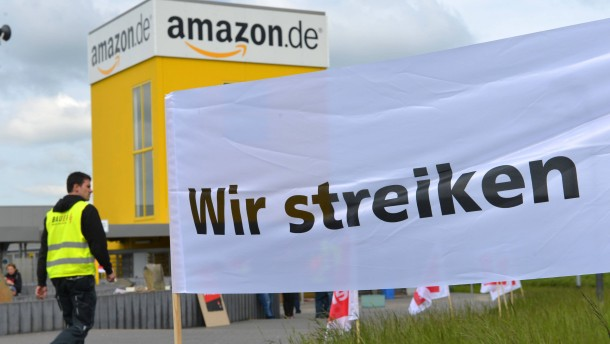 Streik bei Amazon: Weihnachtspakete sollen liegenbleiben