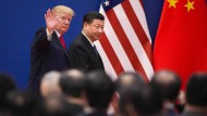 Donald Trump besucht gerade Chinas Staatspräsident Xi Jinping.